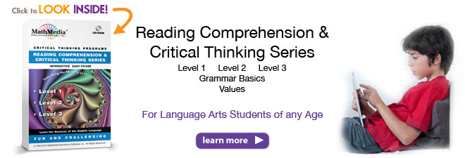 Reading and Critical Thinking Series